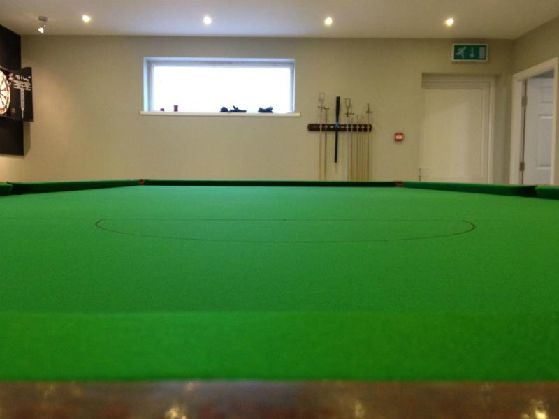 Snooker Table Recovering Pool Table Recovering - Billiard table recovering