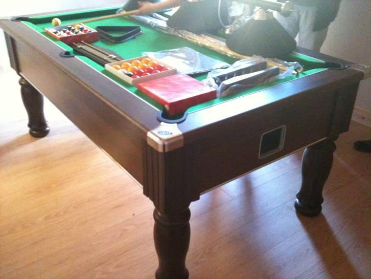 Pool Table Installation In Colwyn Bay North Wales Pool Table - Electronic pool table